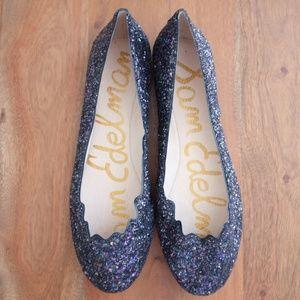 NWOB - Sam Edelman Glitter Ballet Flats